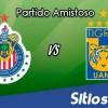 Chivas vs Tigres en Vivo – Partido Amistoso – Sábado 13 de Octubre del 2018