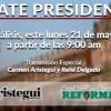 Post Debate Carmen Aristegui y René Delgado en Vivo – Lunes 21 de Mayo del 2018