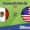 México vs Estados Unidos en Vivo – Final Premundial Sub 20 Concacaf – Miércoles 21 de Noviembre del 2018