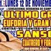 Lucha Libre CMLL desde la Arena Puebla en Vivo – Lunes 12 de Noviembre del 2018