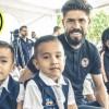Jugadores del América visitan escuela afectada por los sismos del 19-S
