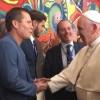 """Julio César Chávez y """"JC"""" Jr. visitan al Papa Francisco"""