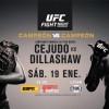 Henry Cejudo vs TJ Dillashaw en Vivo – UFC Fight Night 143 – Sábado 19 de Enero del 2019