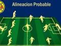 Alineación probable de América vs Tigres – J2 – Clausura 2020