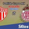 Necaxa vs Toluca en Vivo – Copa MX – Miércoles 11 de Abril del 2018