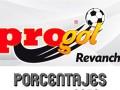 Porcentajes de Venta Progol Media Semana del concurso 500 – Partidos del Martes 29 de Septiembre al Jueves 1 de Octubre del 2020