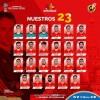 Lista de convocados a la Selección de España para el Mundial de Rusia 2018