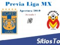 Previa Tigres vs Monarcas Morelia – J1 – Apertura 2019