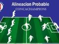 Alineación probable Cruz Azul vs Portmore – Octavos de Final – Concachampions