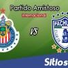 Chivas vs Pachuca en Vivo – Partido Amistoso – Jueves 15 de Noviembre del 2018
