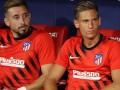 Héctor Herrera a la banca en el triunfo del Atlético de Madrid