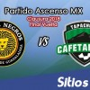 Leones Negros vs Cafetaleros de Tapachula en Vivo – Final Vuelta – Ascenso MX – Domingo 29 de Abril del 2018