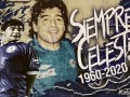 Jugadores del Cruz Azul de despiden de Maradona