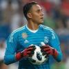 Keylor Navas, otro que se lesionó  en el Real Madrid
