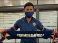 Sergio Díaz sus primeros días en México con el América