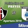 Previa Atlas vs Querétaro en J1 del Apertura 2018
