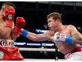 Canelo Álvarez  noqueo a Yildirim en el tercer round