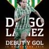 Diego Laínez habla de su primer gol en Europa