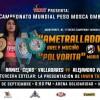 """Arely """"Ametralladora"""" Muciño vs María """"Mary"""" Salinas en Vivo – Box – Sábado 22 de Septiembre del 2018"""