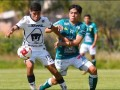 Pumas sub-20 empató al León