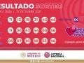 Resultados Melate, Melate Revancha y Revanchita No. 3505 del Sorteo Celebrado el Miércoles 27 de Octubre del 2021
