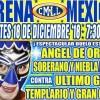 Lucha Libre CMLL de Nuevos Valores en Vivo – Martes 18 de Diciembre del 2018