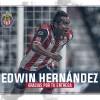 Chivas anuncia baja de Edwin Hernández