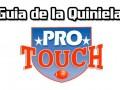 Guía de Quiniela ProTouch del concurso 762  – Quiniela en venta hasta el Sábado 31 de Octubre del 2020