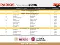Horarios partidos Progol del concurso 2096 – Partidos del Viernes 15 al Domingo 17 de Octubre del 2021