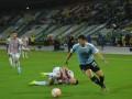 Viñas debutó con la Selección de Uruguay