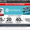 Ofertas Cimaco El Buen Fin 2018